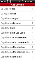 Screenshot of Cap'Cinéma