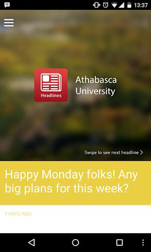 Headlines - Athabasca U