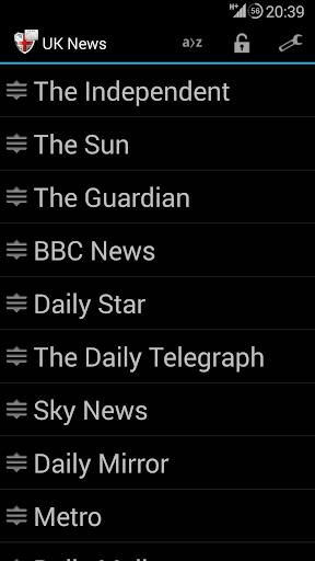 English Newspapers - UK News