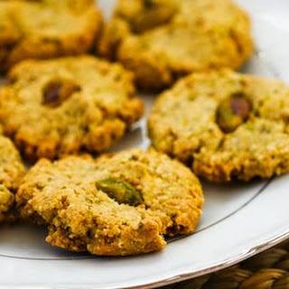 Flourless Sugar-Free Pistachio Cookies.