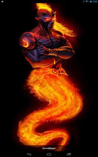 Fiery Genie Live WP