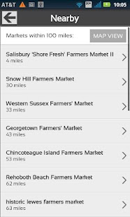 Fresh Food Finder - screenshot thumbnail