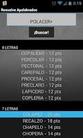 Screenshot of Solve Apalabrados PRO