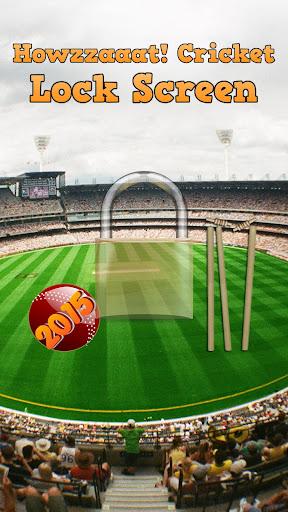 Howzzaaat Cricket Lock Screen