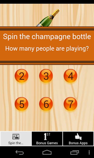 Spin the Champagne Bottle