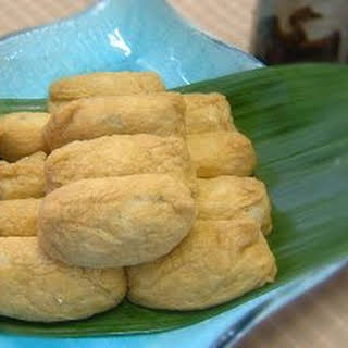 Deep-fried Tofu Sushi.
