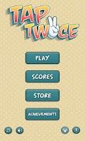 Screenshot of Tap Twice