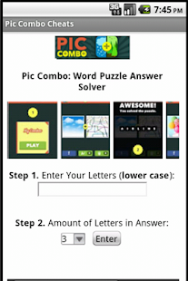 Pic Combo Cheats Answers Free - screenshot thumbnail