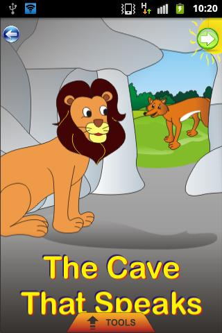 Cave that Speaks - Kids Story