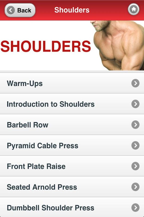Muscle Building Back+Shoulders- screenshot