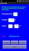 Screenshot of Cálculos de Enfermería