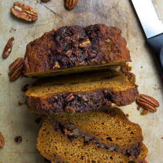 Double Crumb Cinnamon Roll Pumpkin Bread.