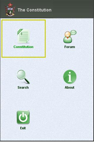Zimbabwe Constitution - screenshot