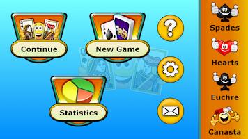 Screenshot of Pinochle