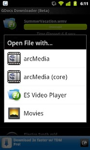 GDriveDownloader(Google Drive) - screenshot thumbnail