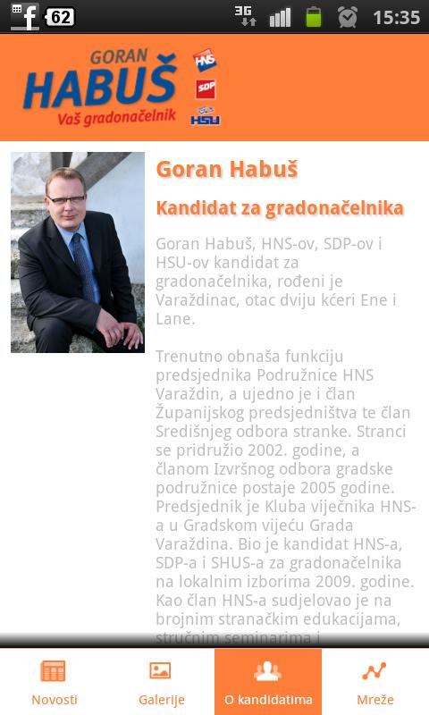Goran Habuš - screenshot