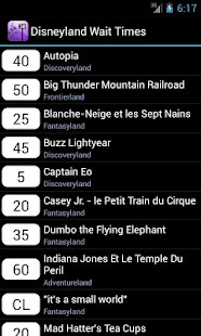 Disneyland Paris Wait Times - screenshot thumbnail