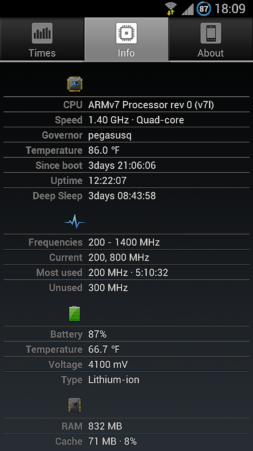 A1 CPU Tool - screenshot