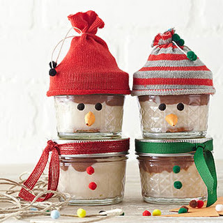 Individual Brownie Cheesecakes in Jars
