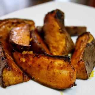Chili Roasted Sweet Potatoes.
