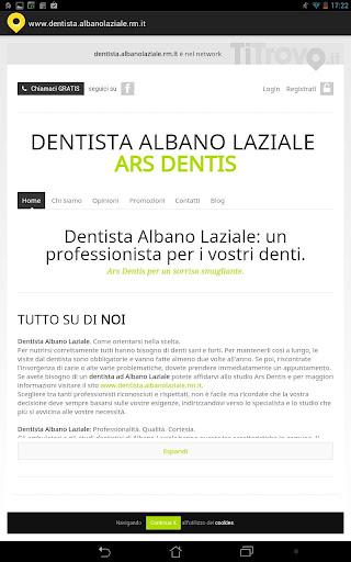 Dentista Albano Laziale RM