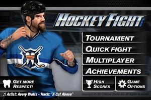 Screenshot of Hockey Fight Pro