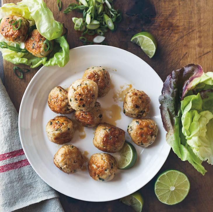 Chicken Meatballs with Ginger & Lemongrass Recipe