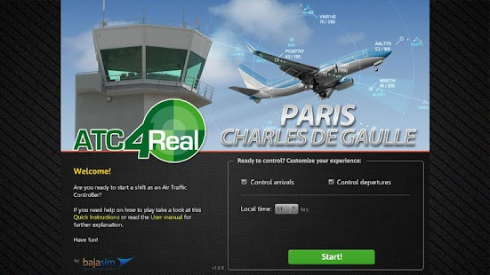 ATC4Real Paris CDG