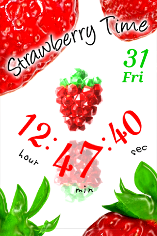 Strawberry Time ライブ壁紙