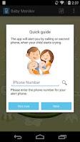 Screenshot of Baby Monitor & Alarm