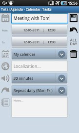 Total Agenda Screenshot 5