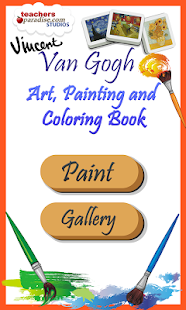 Vincent van Gogh Coloring Book - Android Apps on Google Play