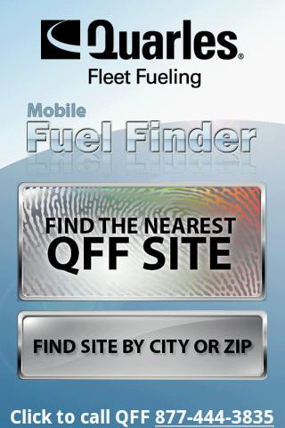 QFF Mobile Fuel Finder- screenshot