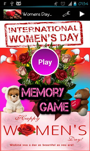 Women's Day Memory Game