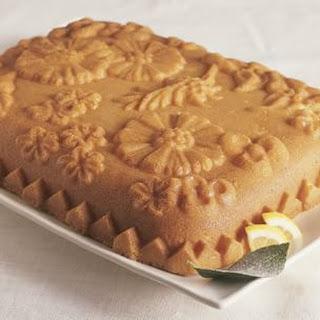 Lemon Wildflower Cake