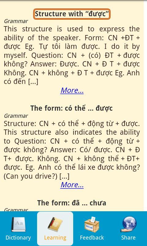 Vietnamese Dictionary Free- screenshot