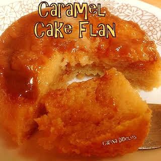 Caramel Cake Flan.