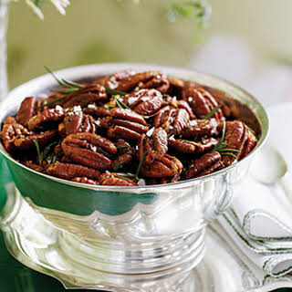 Roasted Brown-Butter Pecans with Rosemary.