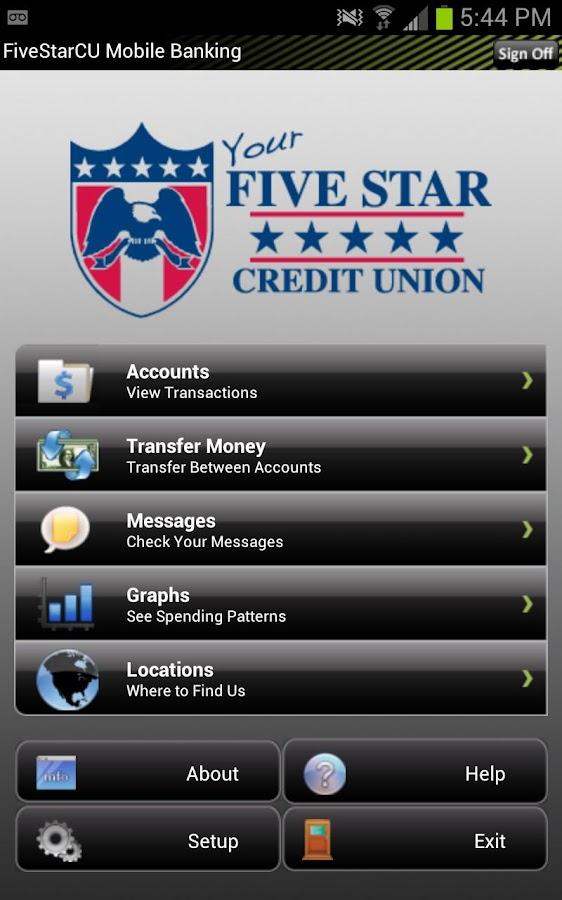Five Star Credit Union - screenshot