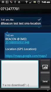 Beacon - Find My Droid- screenshot thumbnail