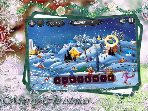 Hidden Objects Christmas Santa