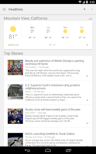 Google News & Weather Screenshot 14