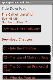 Jagamaga Audiobooks FREE - screenshot thumbnail