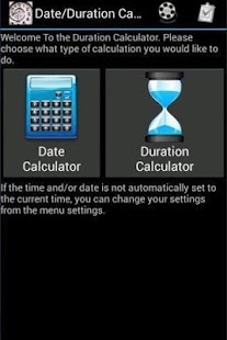 Date duration