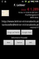 Screenshot of SpritFritz