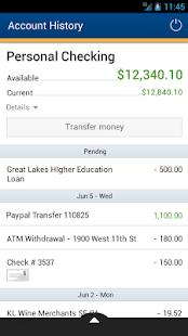 CRCU Mobile Banking - screenshot thumbnail