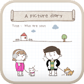 A picture diary go locker