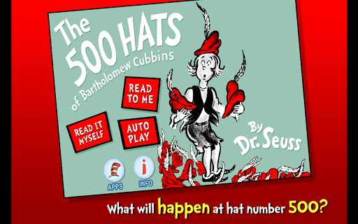【免費書籍App】The 500 Hats of Bartholomew-APP點子
