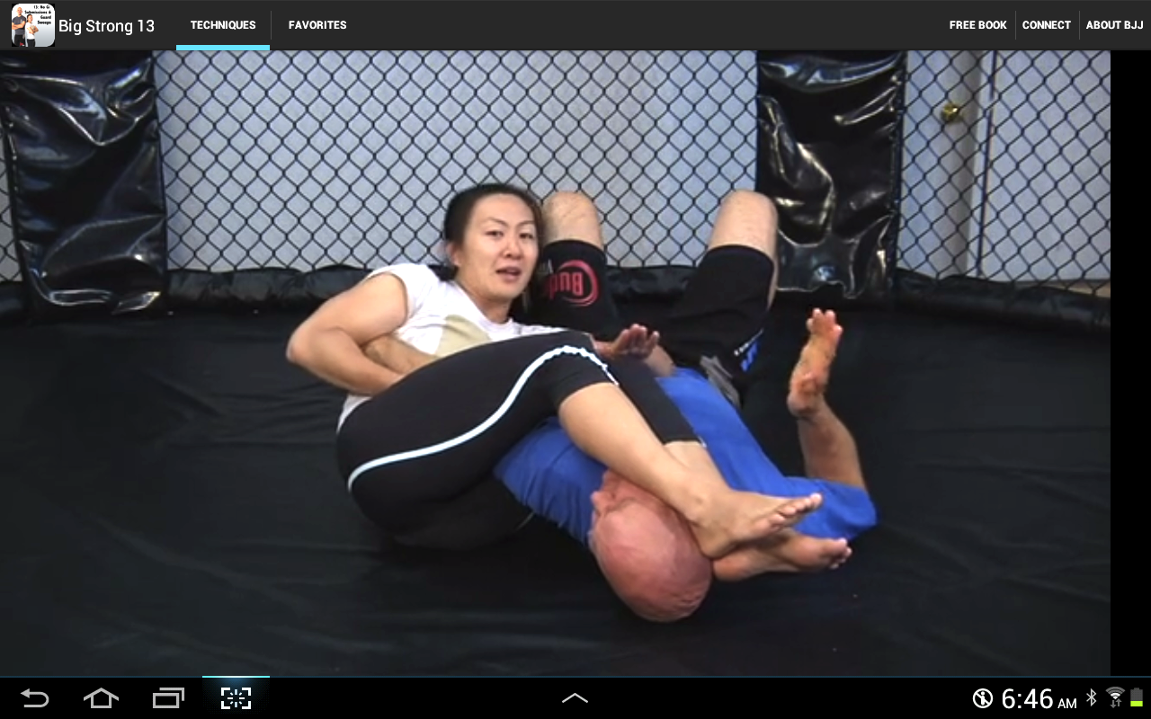 BigStrong 13, Guard Sweeps - screenshot
