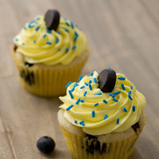 Blueberry Lemon Cupcakes.
